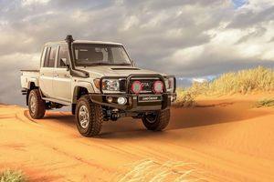 Toyota Land Cruiser phiên bản... bán tải có kiểu dáng hoài cổ