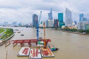 Khởi động lại cây cầu hơn 5.000 tỷ nối Thủ Thiêm với Phú Mỹ Hưng