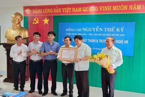 Đoàn công tác của VOV thăm và làm việc với Đài PTTH Nghệ An