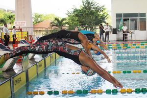 Khai mạc Giải Bơi - Lặn vô địch quốc gia 2019 tại Đà Nẵng