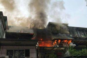Cháy lớn tại khu tập thể Kim Liên, Hà Nội