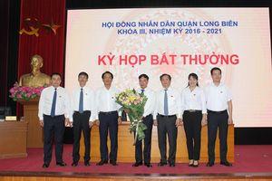 Hà Nội: Phê chuẩn ông Nguyễn Mạnh Hà làm Chủ tịch UBND quận Long Biên