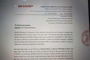 Tập đoàn Sharp 'tố' Asanzo giả mạo bằng chứng