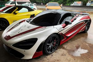 McLaren 720S tiền trạm hành trình siêu xe 2020 đã về VN sau 4.000 km