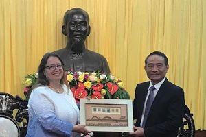 Tân Tổng lãnh sự Mỹ cam kết ủng hộ Việt Nam vững mạnh và thịnh vượng