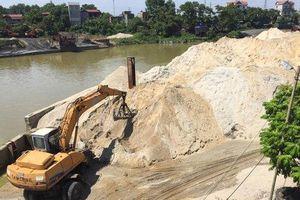Huyện Sóc Sơn: Chậm xử lý vi phạm bến bãi ven sông