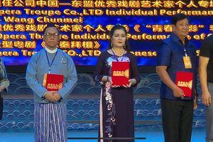 Kịch nói Việt Nam giành hai giải xuất sắc tại Liên hoan Sân khấu Trung Quốc – ASEAN