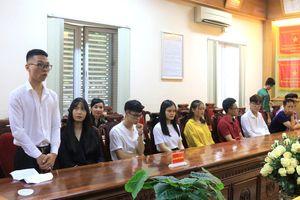 Cục Chính trị BĐBP gặp mặt, biểu dương học sinh trúng tuyển đại học năm 2019