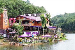 Di tích quốc gia hồ Tuyền Lâm bị 'băm nát'