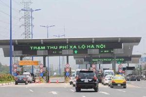Sẽ thu phí qua trạm Xa lộ Hà Nội