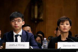 Trung Quốc gửi thông điệp cho nhóm của Hoàng Chi Phong sau sự kiện xuất hiện ở Quốc hội Mỹ