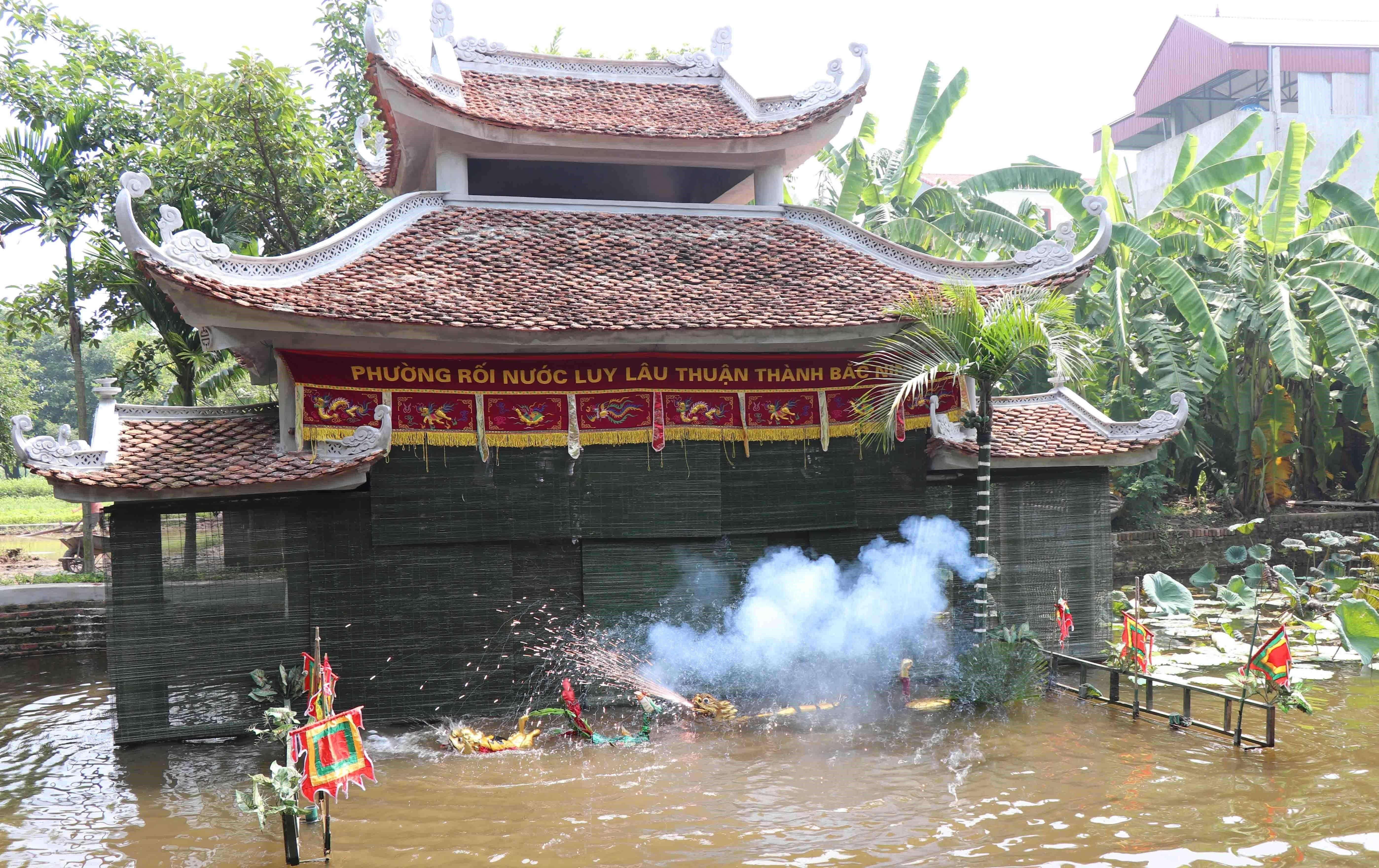 Bắc Ninh: Lôi cuốn nghệ thuật múa rối nước Đồng Ngư