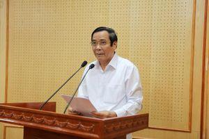 Hội nghị trực tuyến góp ý vào dự thảo các văn bản của Ban Tổ chức Trung ương
