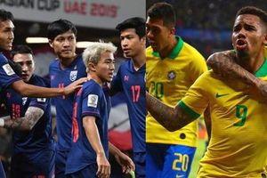 Lý do đội tuyển Brazil không nhận đá giao hữu với Thái Lan