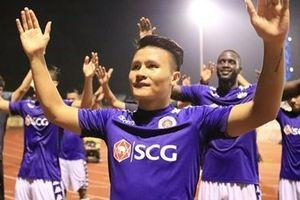 Thắng tối thiểu SLNA, Hà Nội FC vô địch sớm 2 vòng đấu
