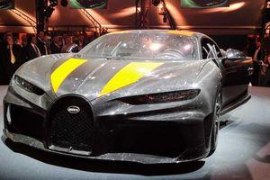 Bugatti Chiron Super Sport đã bay khi đạt vân tốc hơn 400 km/h
