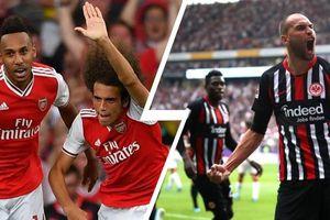 Frankfurt - Arsenal: Unai Emery đẩy David Luiz lên ghế dự bị?