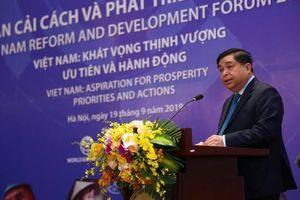 Diễn đàn VRDF 2019: Vượt qua 'bẫy thu nhập trung bình' là thách thức đối với Việt Nam