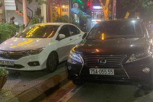 Cận cảnh những chiếc xe sang đeo biển số 'VIP' ở Huế
