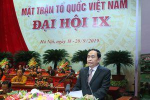 Lời kêu gọi của Đại hội đại biểu MTTQ Việt Nam lần thứ IX, nhiệm kỳ 2019 - 2024