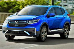 Honda CR-V ra mắt, có bản Hybrid, thay đổi ngoại thất, loại bỏ cần số