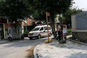 Hà Nội: Nghi án một bảo vệ bị sát hại trong khu đô thị Dương Nội