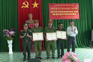 Khen thưởng các đơn vị, cá nhân đạt thành tích trong phòng chống tội phạm ma túy
