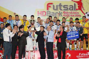 Giải Futsal HDBank VĐQG 2019: Nâng tầm nâng chất, nâng niềm tin
