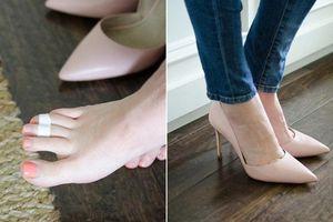 Bỏ túi ngay 5 cách làm giúp việc đi giày cao gót không bị đau chân