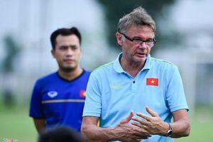 HLV Philippe Troussier củng cố lực lượng, chuẩn bị cho chiến dịch Vòng loại U.19 châu Á 2020