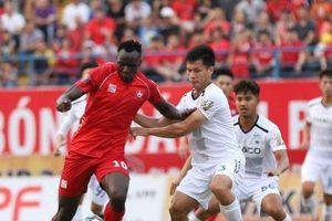 Minh Vương lập hattrick, HAGL thắng đậm Hải Phòng FC