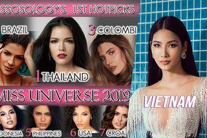 Missosology tung dự đoán Miss Universe: Hoàng Thùy góp mặt nhưng 'cay đắng' rớt khỏi Top 15