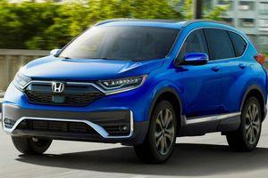Honda CR-V 2020 cải tiến ngoại hình, tăng tính năng