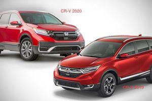 5 điểm cải tiến trên bản nâng cấp Honda CR-V 2020 so với mẫu cũ