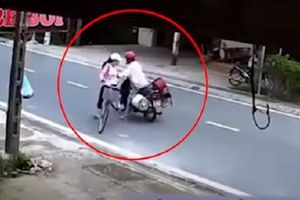 Danh tính người đàn ông chặn xe, sờ ngực thiếu nữ giữa đường ở Nam Định