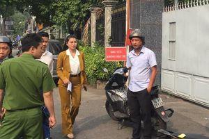 Phó tổng Đối ngoại và đào tạo Alibaba đã đến trụ sở công an