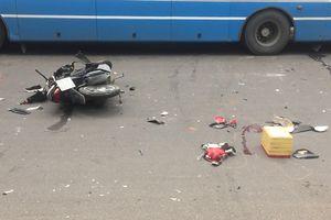 Lái xe đuổi theo tên cướp cô gái bị tai nạn nguy kịch