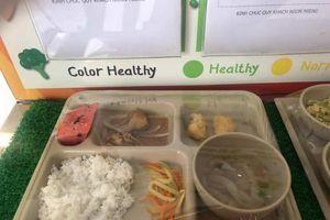 Vì sao phụ huynh phải giám sát suất ăn tại trường Quốc tế Việt Úc?
