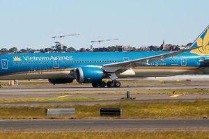 Siêu tàu bay Boeing 787 của Vietnam Airlines suýt hạ cánh bằng bụng