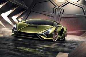 Lamborghini Sian: 'Siêu bò' chạy động cơ hybrid trị giá 3,6 triệu USD