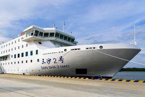 Nhiều lo ngại về tàu tiếp vận mới của Trung Quốc trên Biển Đông