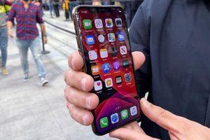 Màn hình iPhone 11 Pro vỡ nát sau cú rơi nhẹ bên thềm Apple Store