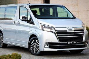 Toyota ra mắt xe mới Granvia, anh em của 'cá mập' Hiace