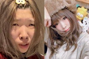 Hot girl Nhật có gương mặt trước và sau trang điểm chẳng liên quan