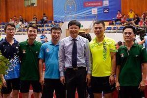 Đội Bóng bàn Báo QĐND vào tứ kết Giải Cúp Hội Nhà báo