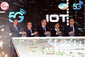 Viettel phát sóng 5G và đưa vào khai thác hạ tầng kết nối vạn vật tại TP Hồ Chí Minh