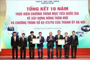 Hà Nội cần là ngọn cờ đầu của cả nước trong xây dựng nông thôn mới