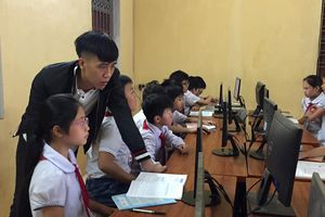 Lạng Sơn: Đẩy mạnh dạy Tin học cấp Tiểu học