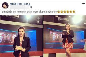 BTV VTV24 hé lộ loạt hậu trường trên sóng truyền hình khiến người xem 'ngã ngửa'