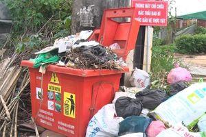 Chất thải độc hại ùn ứ trong hàng trăm thùng rác trên đường phố Đà Lạt